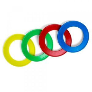 Petface Fling a Ring Fun Flyer Frisbee Ring Dog Toy Small 15cm