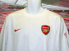Nuevo Nike Arsenal Football Club Sudadera Blanco Talla M