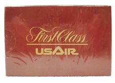 VINTAGE SEALED DECK FIRST CLASS US AIR STANDARD PLAYING CARDS