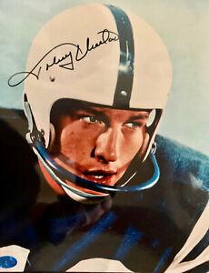 JOHNNY UNITAS HOF Baltimore Colts SIGNED 8x10 (#4) W/COA