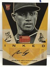 Adeiny Hechavarria 2013 Panini Americas Pastime Inked RC Auto #'d/125 - MARLINS