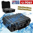 Portable Waterproof Hard Plastic Carry Case Tool Storage Box Organizer With Foam
