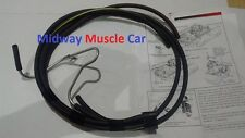 thermo controlled ported intake vacuum switch hose kit 68 Pontiac GTO Firebird