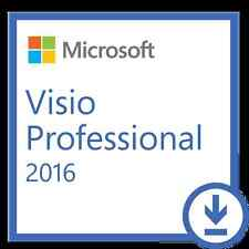 Microsoft Visio 2016 Professional for PC Online Download Fast Email Sent