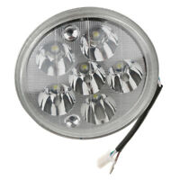 "Motorcycle 5.5"" Headlight Scooter Hi/Lo Beam Light 30W 6 LED White"