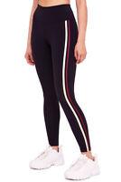 Free People Damen Freistil OB816373 Activewear Bottom Slim Schwarz Größe XS