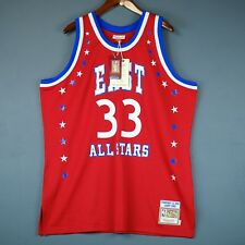 100% Authentic Larry Bird Mitchell   Ness 1983 All Star Game Jersey Size 52  2XL cd02cf41d