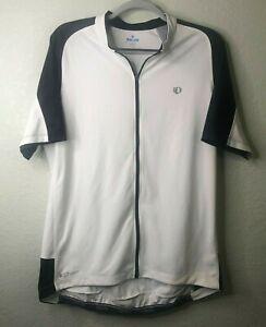 Pearl Izumi SELECT  Short Sleeve Cycling Jersey Full Zip POCKETS White Size XXL