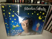 """FEDERICO SALVATORE """" IL MAGO DI AZZ """" RARO CD 1996 CON COPERTINA OLEOGRAFICA"""