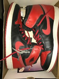 [2001 RELEASE] Air Jordan 1 Retro Bred (2001) Size 13 100% Authentic New