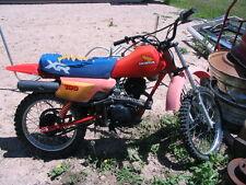 84 1984 Honda trail bike motorbike - complete, for  parts - NO RESERVE !!-