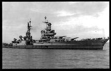 USS Indianapolis CA-35 postcard US Navy Heavy Cruiser
