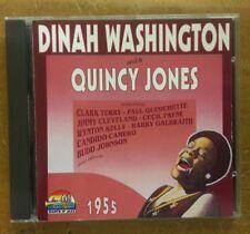 dinah washington with quincy Jones giants of jazz 1955 cd album Clark terry