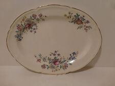 Vintage Edwin M. Knowles Winslow Scalloped Serving Platter USA  c. 42   (S4