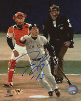 Jim Leyritz Signed 8x10 Photo New York Yankees Baseball World Series Home Run