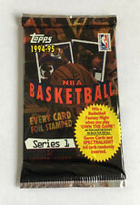 NBA Topps 1994/95 Series 1 Pack - Basketball Cards