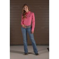 Wrangler Women's Watermelon Pink Snap Up Western Shirt LW6601K