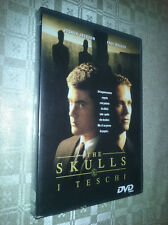 cofanetto+DVD nuovo film THE SKULLS ~ I TESCHI** con Joshua Jackson Paul Walker