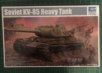 Trumpeter 01569 1/35 Soviet KV-85 Heavy Tank Model New Uk Stock