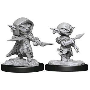 Pathfinder Battles Unpainted Deep Cuts Miniatures Male Goblin Rogue