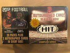 2012 Hit Football Blaster Box 2 Autos Factory Sealed