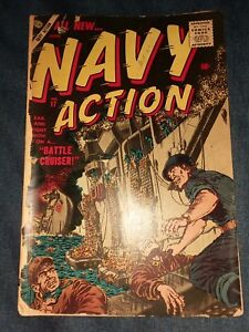 Navy Action (1954) #17 atlas comics premarvel poor mort drucker art war precode