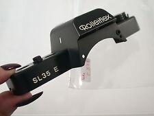 ORIG. ROLLEIFLEX SL 35 e pezzo di ricambio spare part chassis cappuccio SUPERIORE TOP PLATE (6