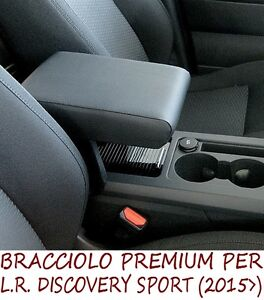 Bracciolo Premium per LR DISCOVERY SPORT  (2015>)-MADE IN ITALY appoggiagomito-@