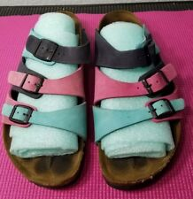 Betula Birkenstock Florida Tri Color 42 W11 M9  Leather