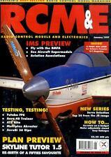 RADIO CONTROL MODELS & ELECTRONICS MAGAZINE 1997 JAN FUTABA FF6 - ATS KITE