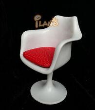 1:12 Dollhouse Furniture Tulip Armchair Swivel Chair Turning Chair WL002