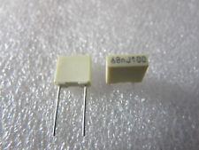 10 condensateurs MKT 68nF 100V 5% Arcotronics