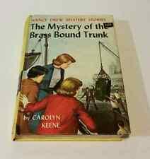 The Mystery of the Brass Bound Trunk by Carolyn Keene #17 Nancy Drew Mystery vtg