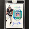 2019 Flawless JOSH JACOBS Rookie Patch Auto 1/1 NFL Shield Signature Gloves