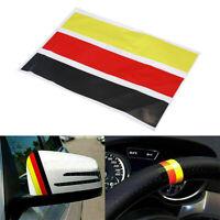1 SET GERMAN GERMANY FLAG DIY Car Stripe Sticker Decal Universal Stripes Emblem