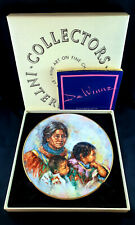 "Royal Doulton Collector Plate by L. De Winne ""Noble Heritage"" in Original Box"