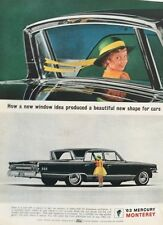1963 Mercury Monterey Breezeway  - 11x14 Vintage Advertisement Print Car Ad LG56