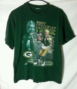 Brett Favre Green Bay Packers NFL football t shirt YOUTH Large Boys Clothing