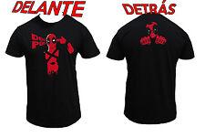 Camiseta DEADPOOL MARVEL BATMAN SUPER HEROE SPIDERMAN TACO