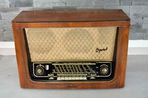 Telefunken Opus 55 TS Röhrenradio,1950er