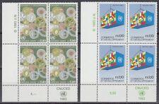 ONU Ginevra 1983 ** mi.115/16 commercio commerce sviluppo Development [sr2133]