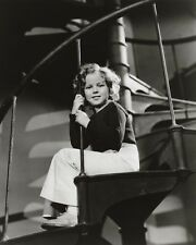 SHIRLEY TEMPLE 8x10 PICTURE CAPTIAN JANUARY FILM PHOTO