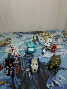 Transformers G1 & 1990s Junkers Spares Or Repair Action Figures Lot No6 Hasbro