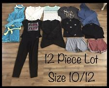 Girls Clothing Lot, 12 Items, Size 10/12, Total Girl, Cheroke, Old Navy, H&M
