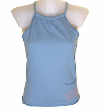 Bnwt Women's French Connection Strappy Top Vest Large RRP£35 New Blue Fcuk