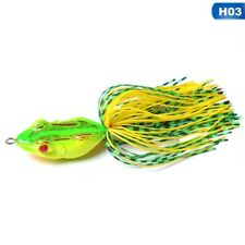 Colorful Frog Freshwater Fishing Lures Crankbaits Baits Tackle With Hooks