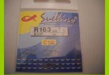 1 confezione 20  Ami Suehiro in acciaio 110 carbon serie r163 n 20 pesca mf bi12