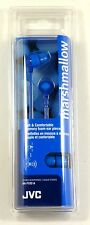 HAFX32A  JVC Marshmallow Earbuds (Blue) for mp3/radio/tablet/Laptop