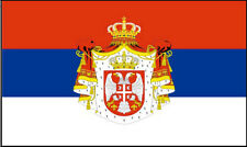 5' x 3' Old Serbia Flag Historical 1812 to 1918 Serbian Kingdom Flags Banner