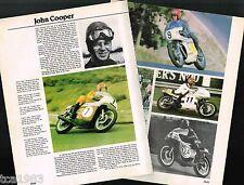 Old JOHN COOPER MOTORCYCLE Racing Article/Pictures: BSA,